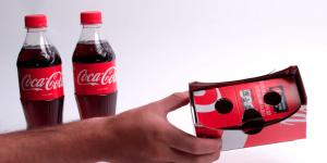Personalisiertes Cardboard Coca Cola