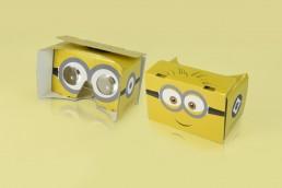 Bedrucktes Cardboard Minions